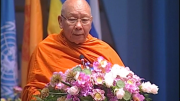 Message from The Most Venerable Phra Promwachirayan, The member of Thai Sangha Council