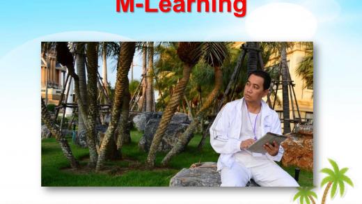 """""""การผลิตแบบ e-Book และการใช้งานระบบ M-Learning """" ดร.เกษม แสงนนท์ และคณะ PART #2"""